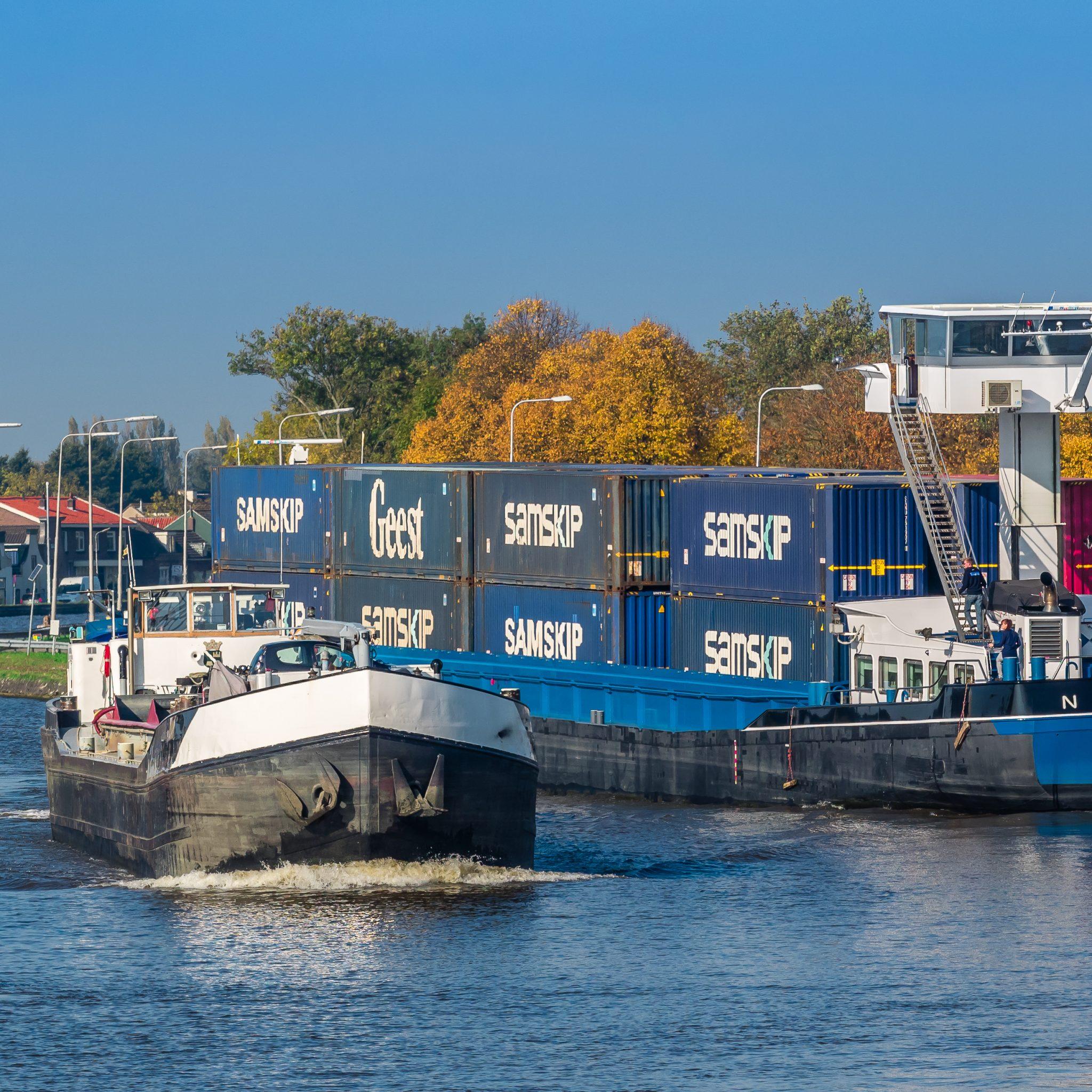Schippers moeten hulp krijgen bij het vergroenen van hun schepen. (Foto Frans Berkelaar/Wikimedia)
