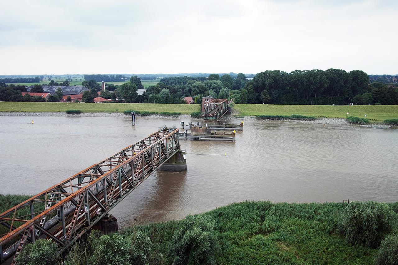 Oplopende kosten en een watersnoodramp: de bouw van de nieuwe brug wordt geteisterd door problemen. (Foto Drecoll Ingenieure)