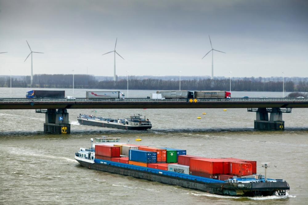 Containers moeten het wegvallen van het kolenvervoer opvangen. (Foto Topsector Logistiek)
