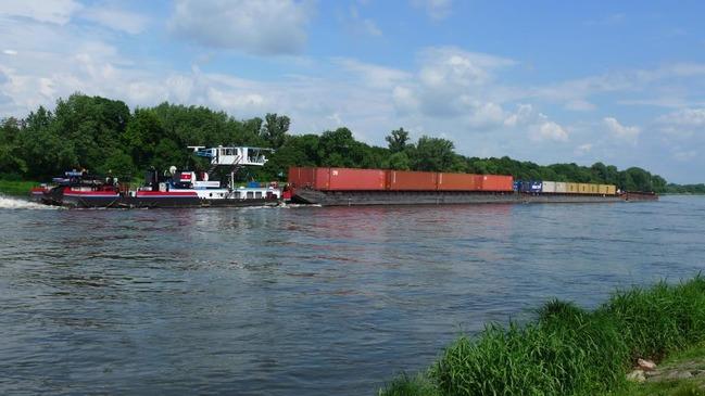 'De scheepvaart wil op de Elbe te veel, te groot en te diep. De Elbe is voor bulkgoederen al lange tijd afgeschreven', aldus de WSA. (Foto Gesamtkonzept Elbe)