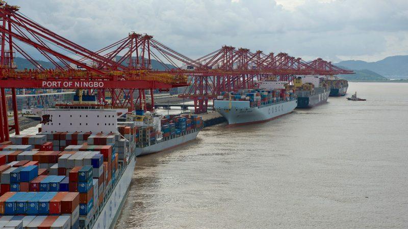 De betreffende terminal is goed voor ongeveer een kwart van de containeroverslag van de haven van Ningbo. (Foto Port of Ningbo)