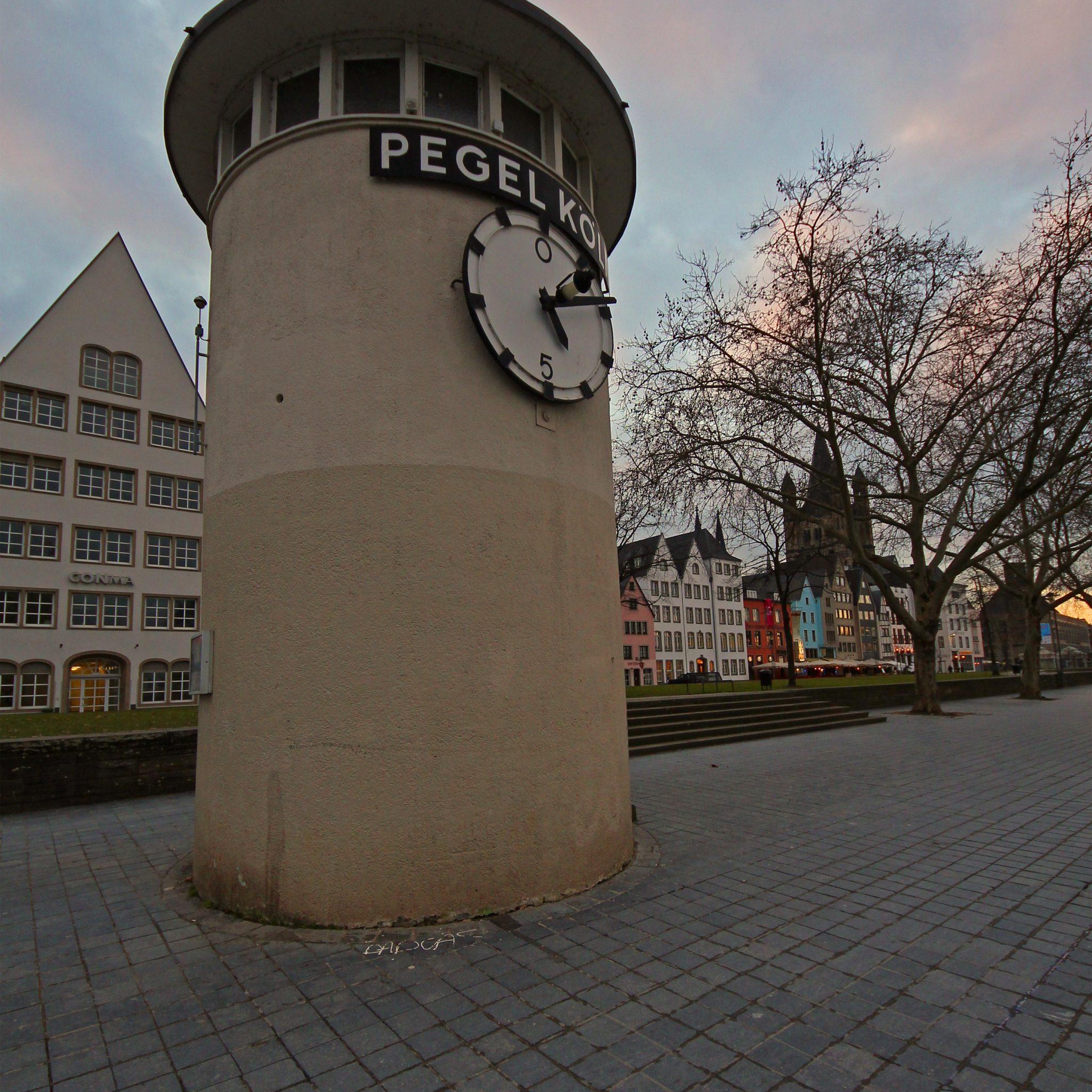 Ter illustratie: de Pegel van Keulen. (Foto Wikipedia)