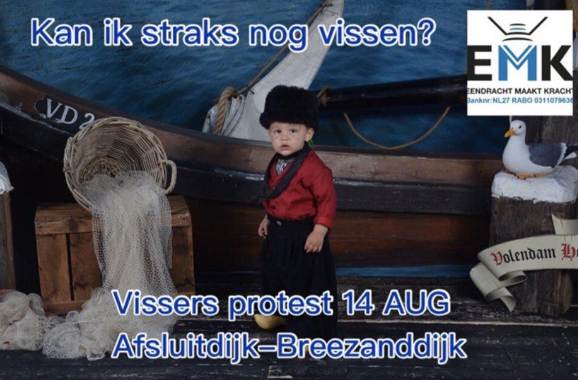De actiegroep Eendracht Maakt Kracht (EMK) organiseert de protestactie. (Beeld EMK)