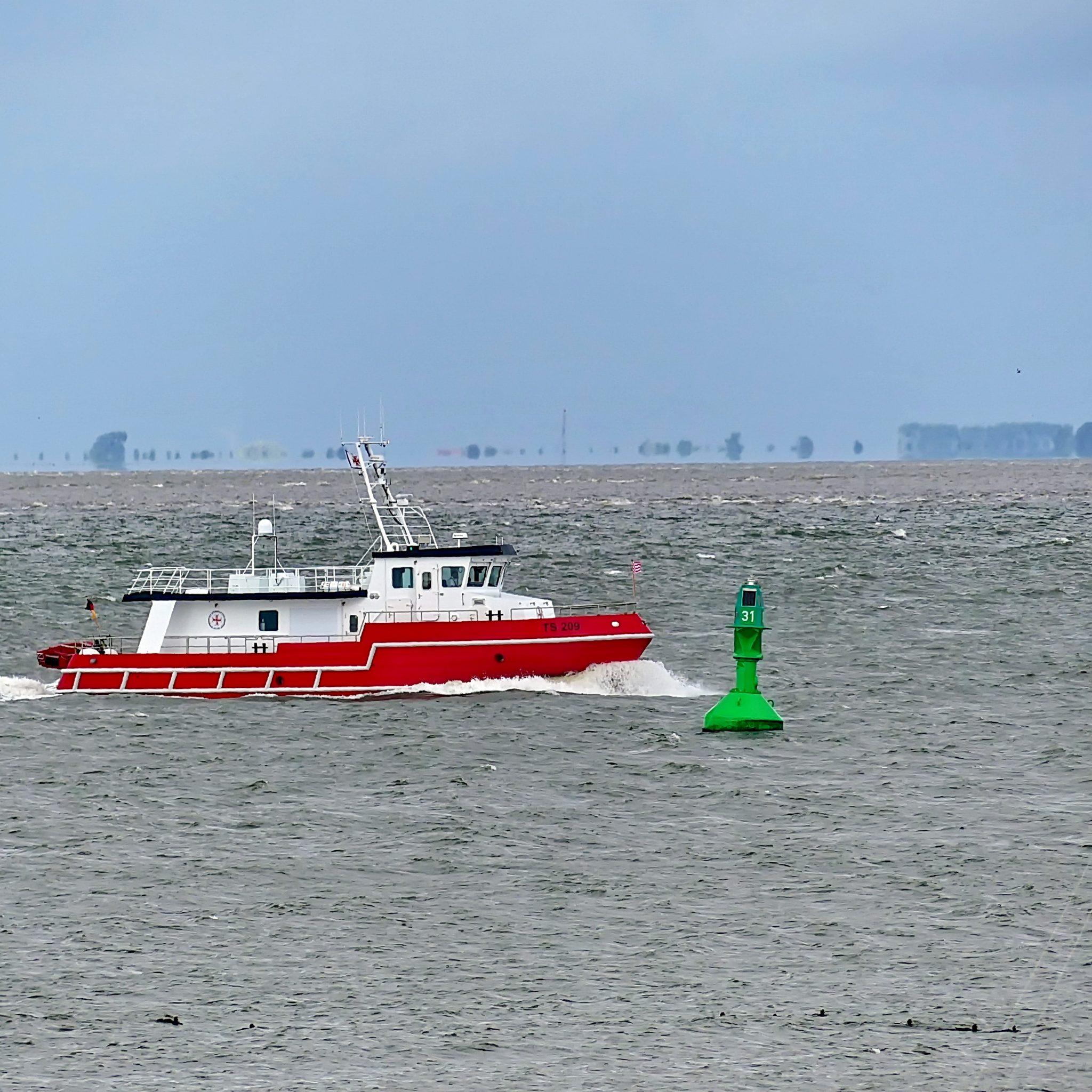 Het nieuwe trainingsschip van de Duitse 'reddingmaatschappij' DGzRS (Foto Die Seenotretter – DGzRS)