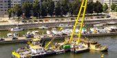 De bok Hebo-lift 6 had de spits Quintus Quarter dinsdag vlot boven water. (Foto van internet RTBF)