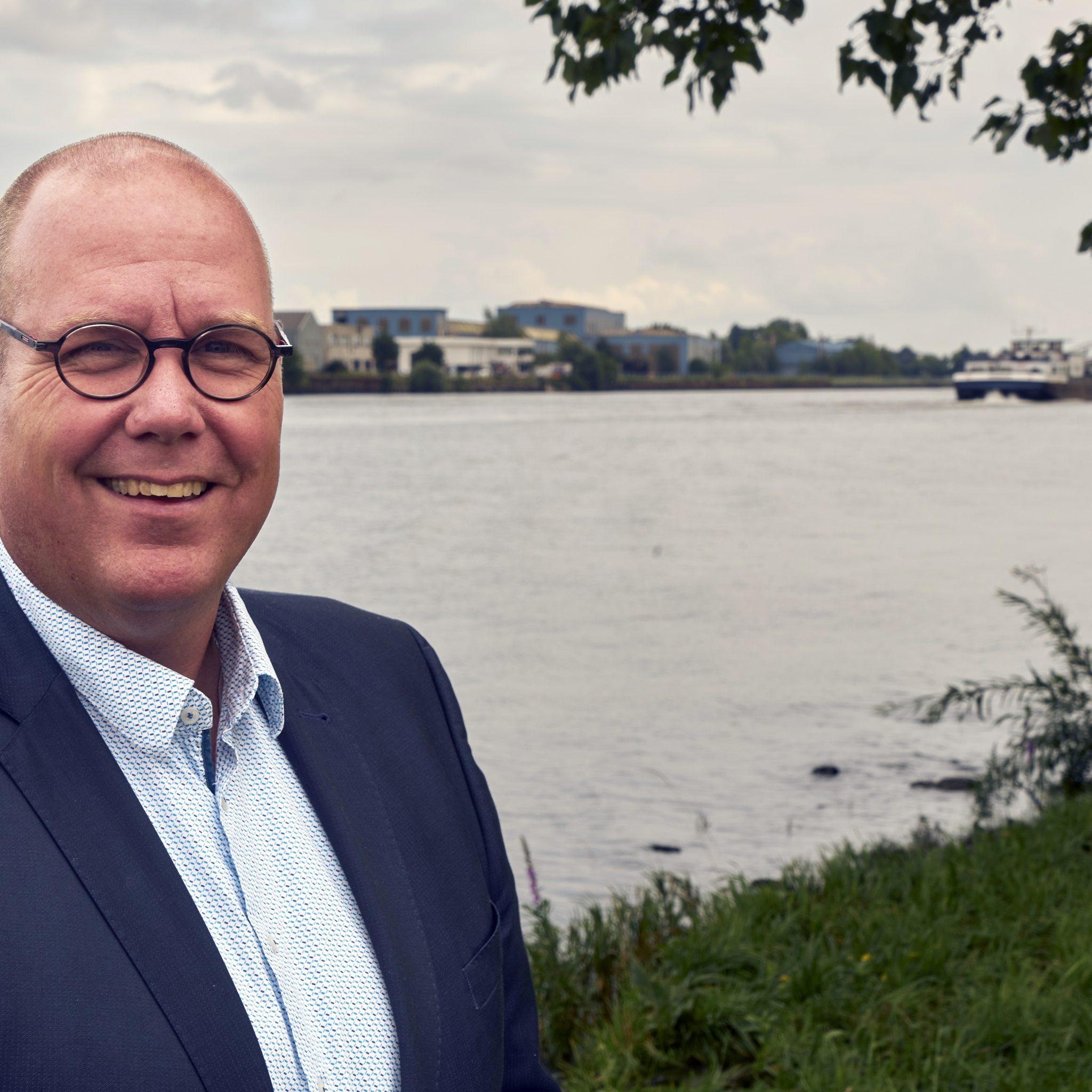 De nieuwe directeur van Mercy Ships Holland, Martijn Provily. 'Mercy Ships is voor mij hét voorbeeld van onbaatzuchtige naastenliefde.' (Foto Mercy Ships)
