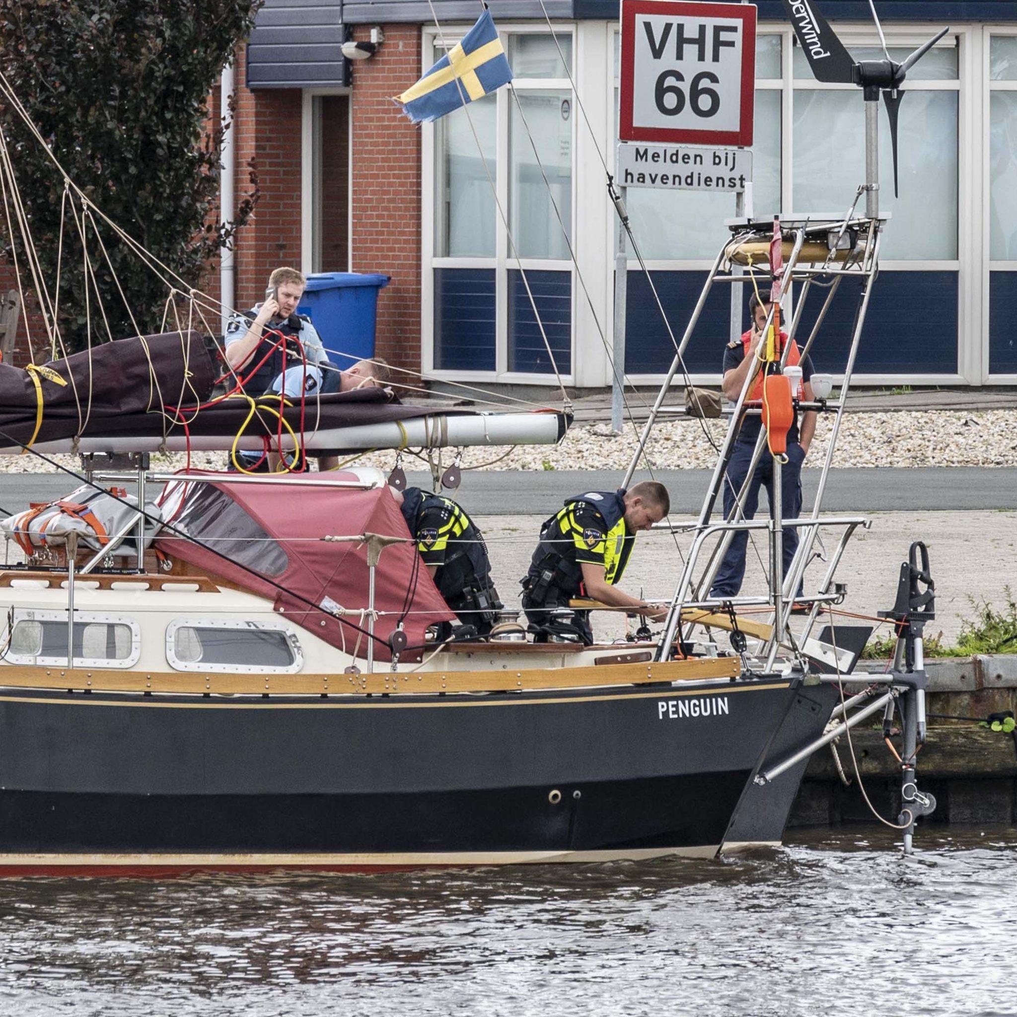 De man werd uiteindelijk aangehouden in Appingedam. (Foto ProNews)