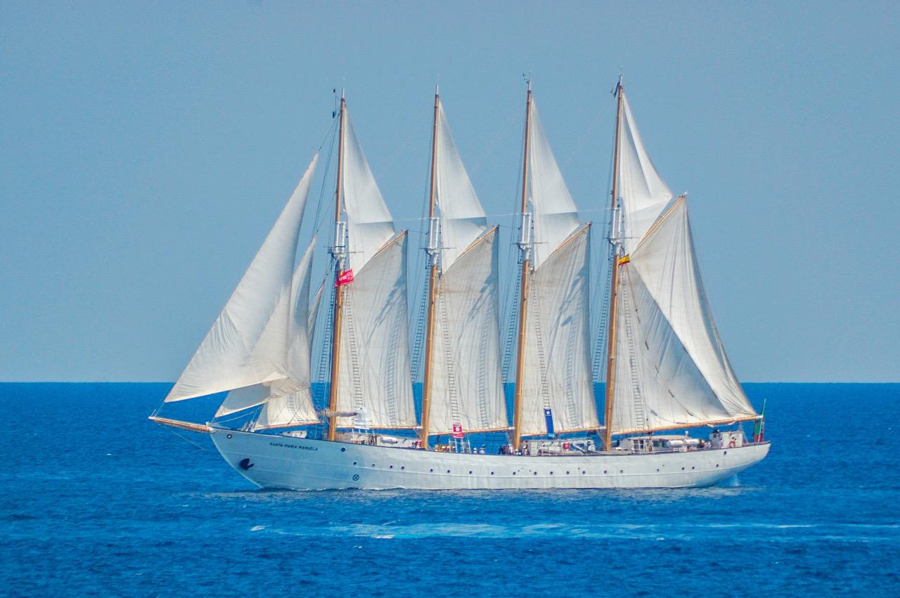 De Santa Maria Manuela was onderdeel van de Witte Vloot tijdens WOII. (Foto Da-Capo)