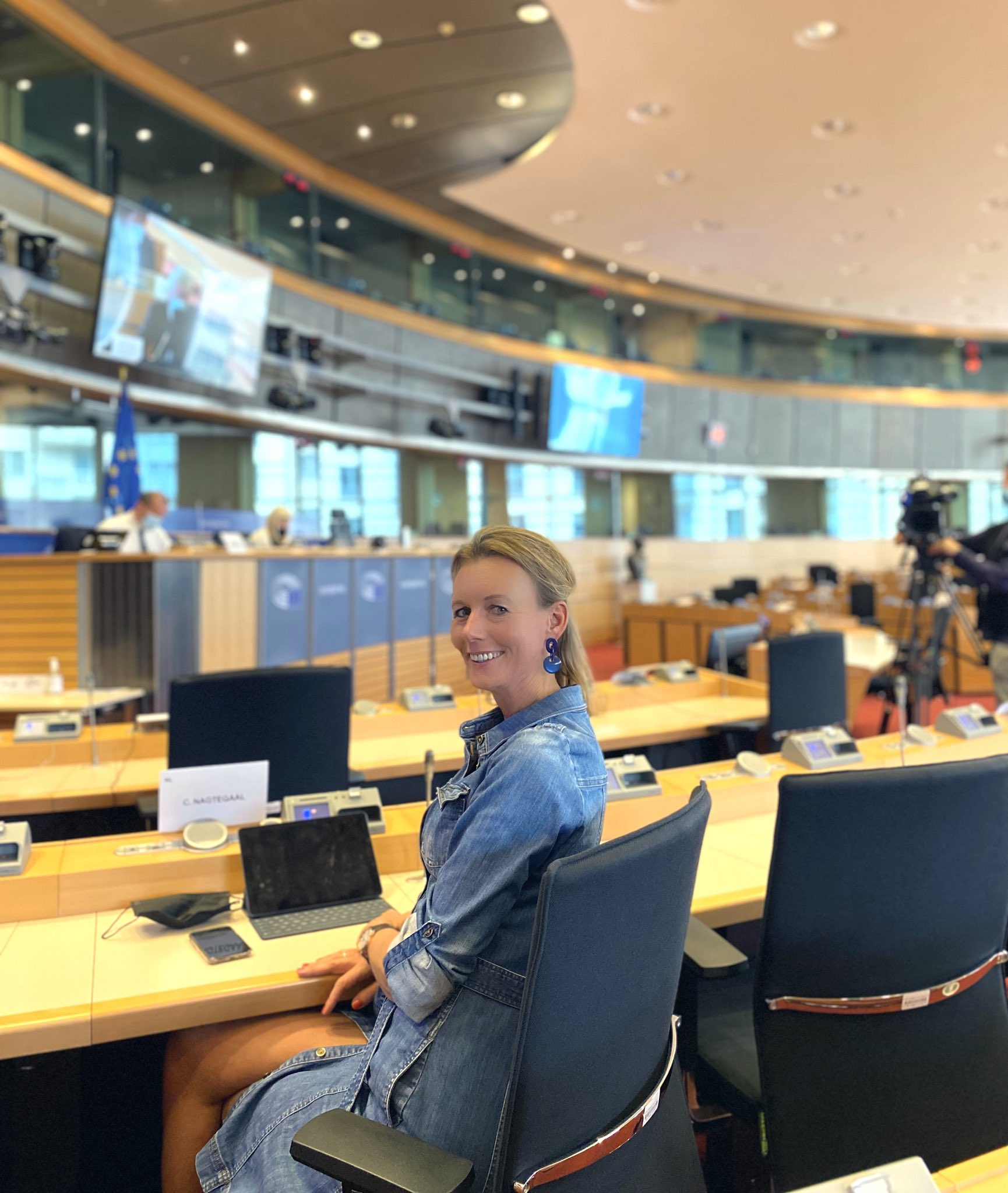 Met ruime meerderheid werd het rapport van transportspecialist Caroline Nagtegaal-Van Doorn (VVD) aangenomen. (Foto Caroline Nagtegaal-Van Doorn)