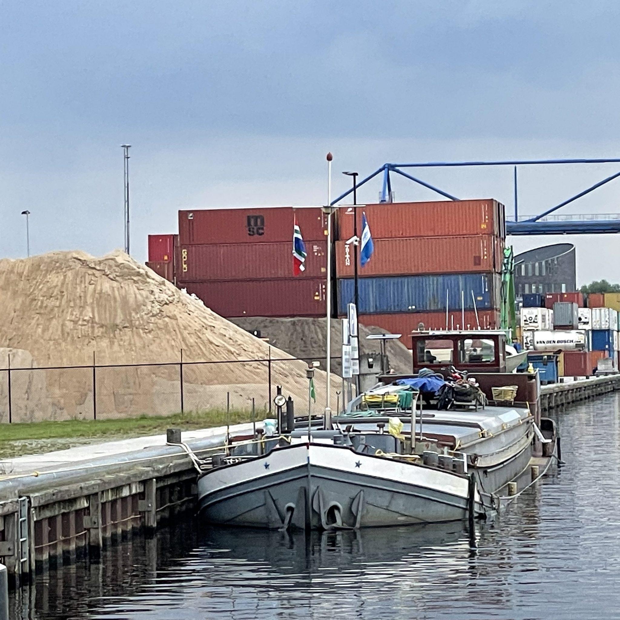 De Semper Spera lag eerst langere tijd in Veghel. (Foto AS Media)