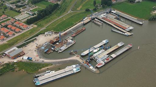Het Duitse HGK Shipping heeft bij scheepswerf De Gerlien van Tiem in Druten een order geplaatst voor de bouw van twee 'H2 ready' binnenvaarttankers. (Foto De Gerlien van Tiem)