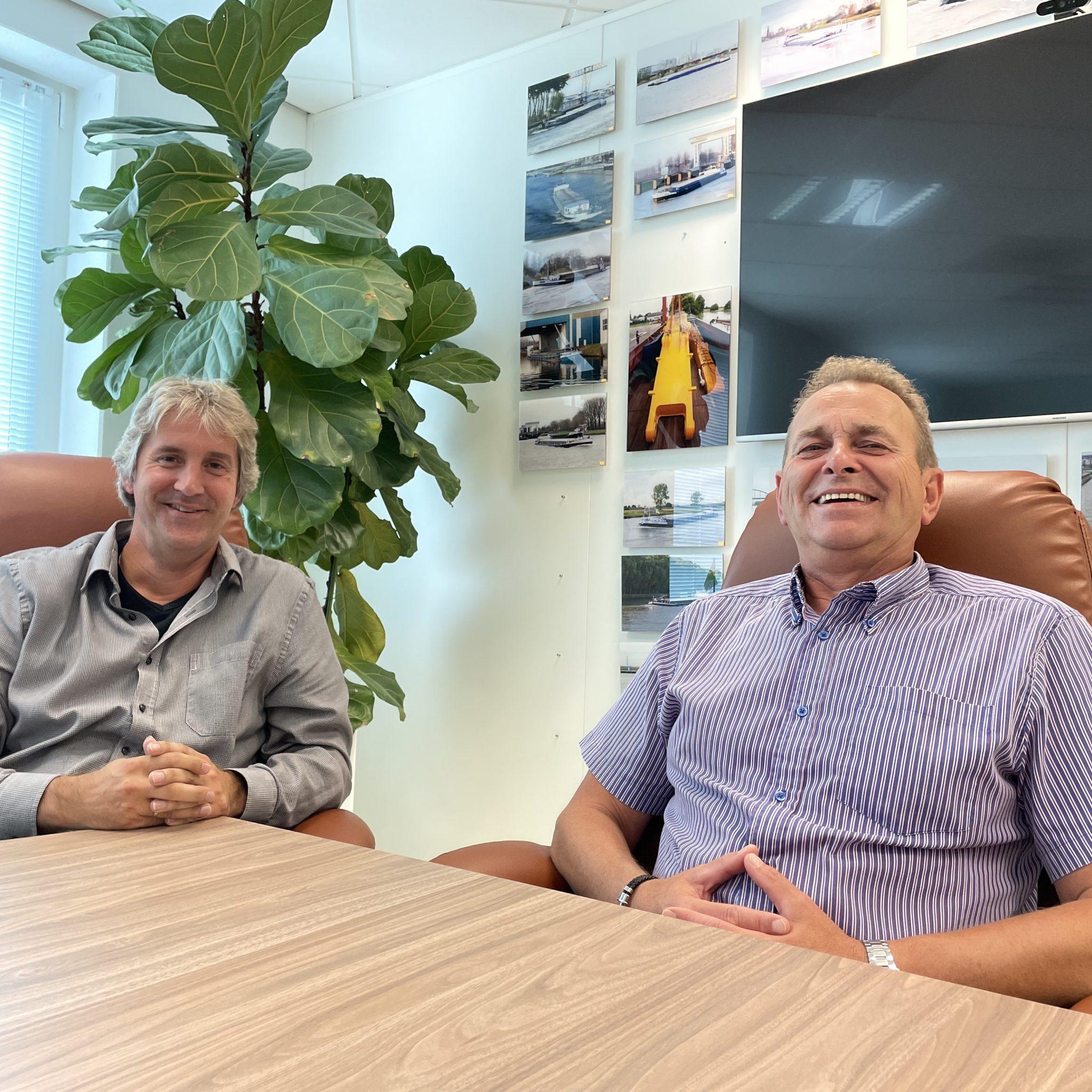 Henri van Sandijk en Johan Cornet van de PTC. (Foto's Helmut de Hoogh)
