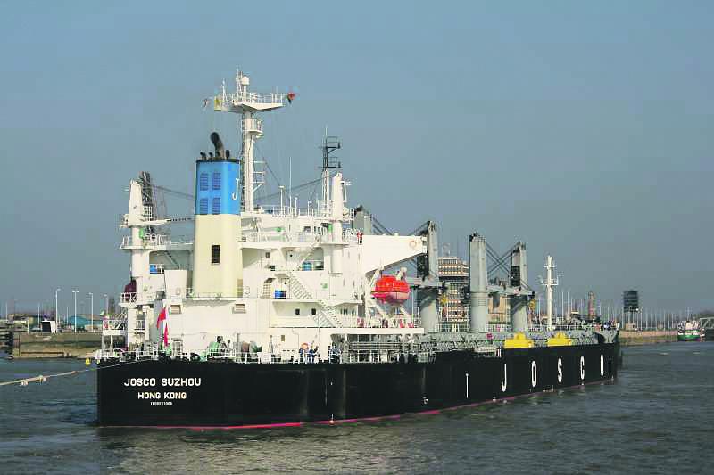 Bulkcarrier Josco Suzhou voor $13,5 miljoen. (Foto Shipspotting)