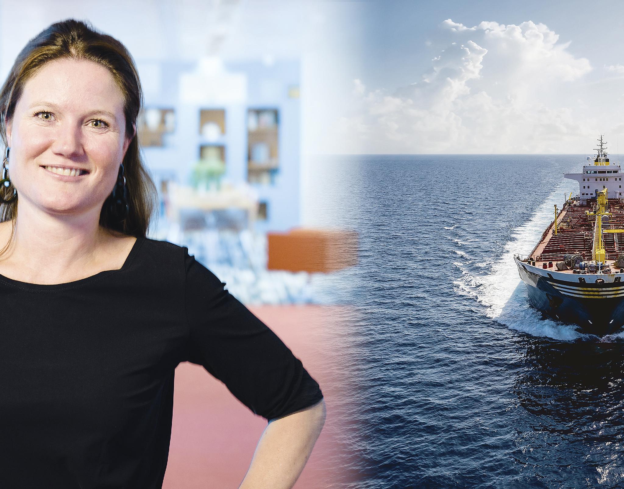 Annet Koster: 'Wil je mondiale maatregelen, moet je mondiaal draagvlak hebben.' (Illustratie Bureau OMA)