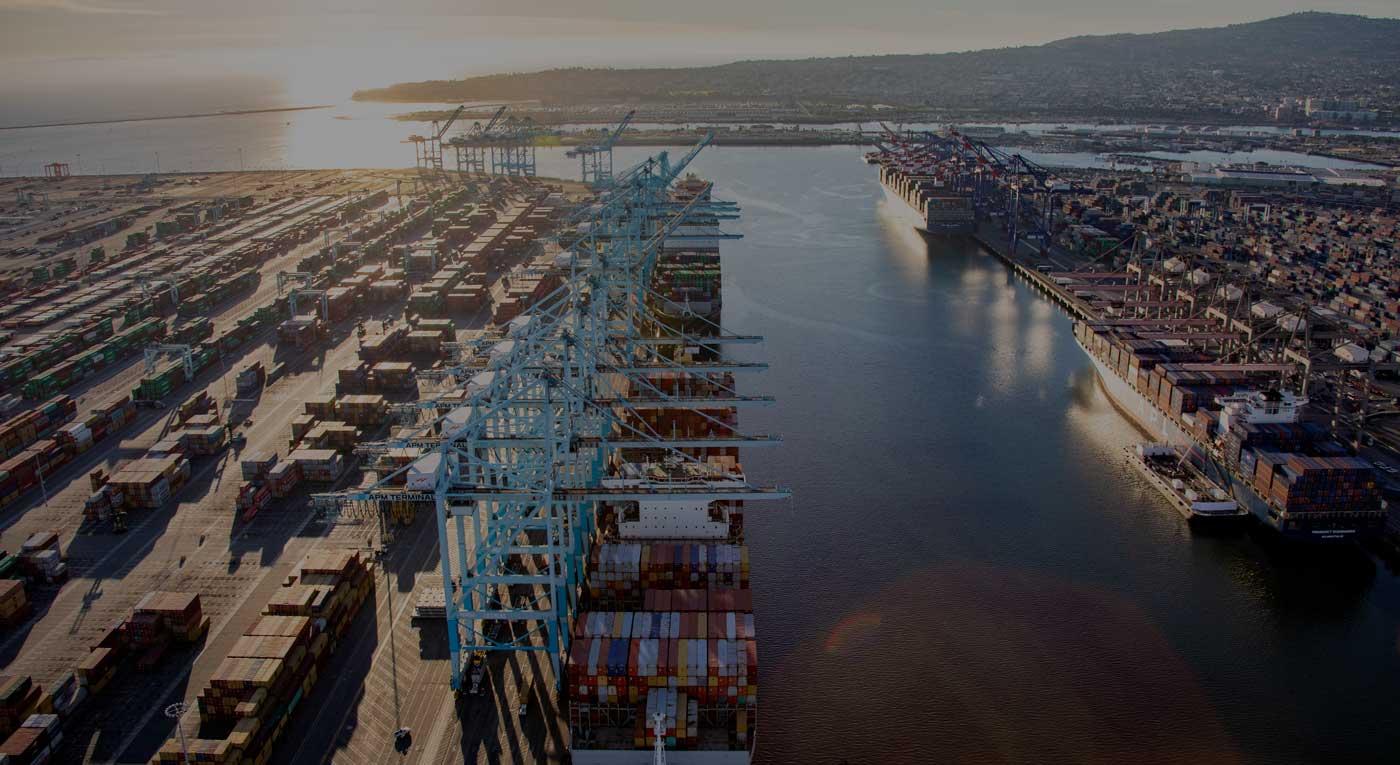 De haven van Los Angeles. (Foto Port of LA)