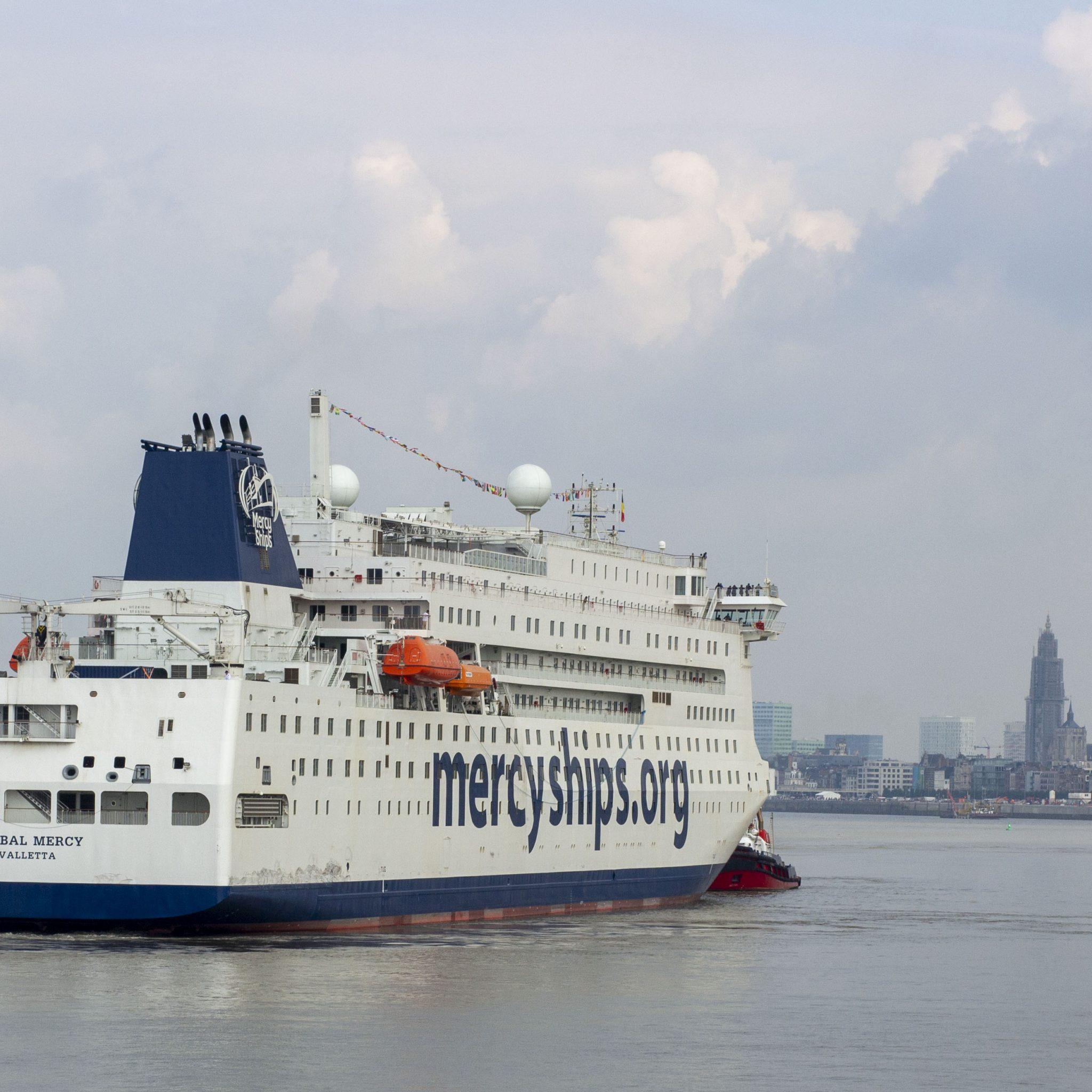 De Antwerpse havengemeenschap stelt goederen, diensten en financiën beschikbaar om de afbouw in Antwerpen mogelijk te maken. (Foto's Jerom Rozendaal)