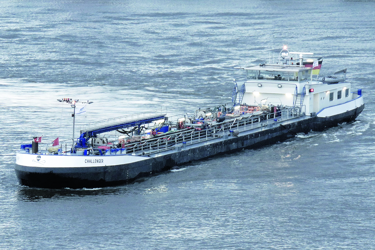 De Challenger is na vier jaren Hamburg weer thuis. (Foto A. Träger)
