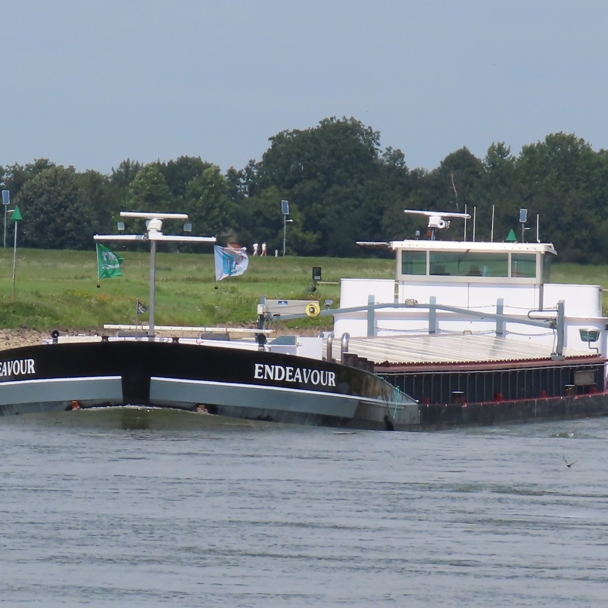 Hoekstra BV heeft de Endeavour verkocht naar Hendrik Ido Ambacht. (Foto R .H. Mulder)