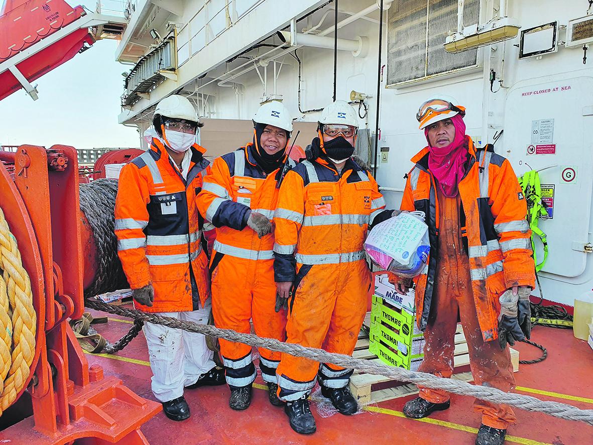 Duizenden zeelieden zitten in de knel door de Coronacrisis. (Foto The Mission to Seafarers)