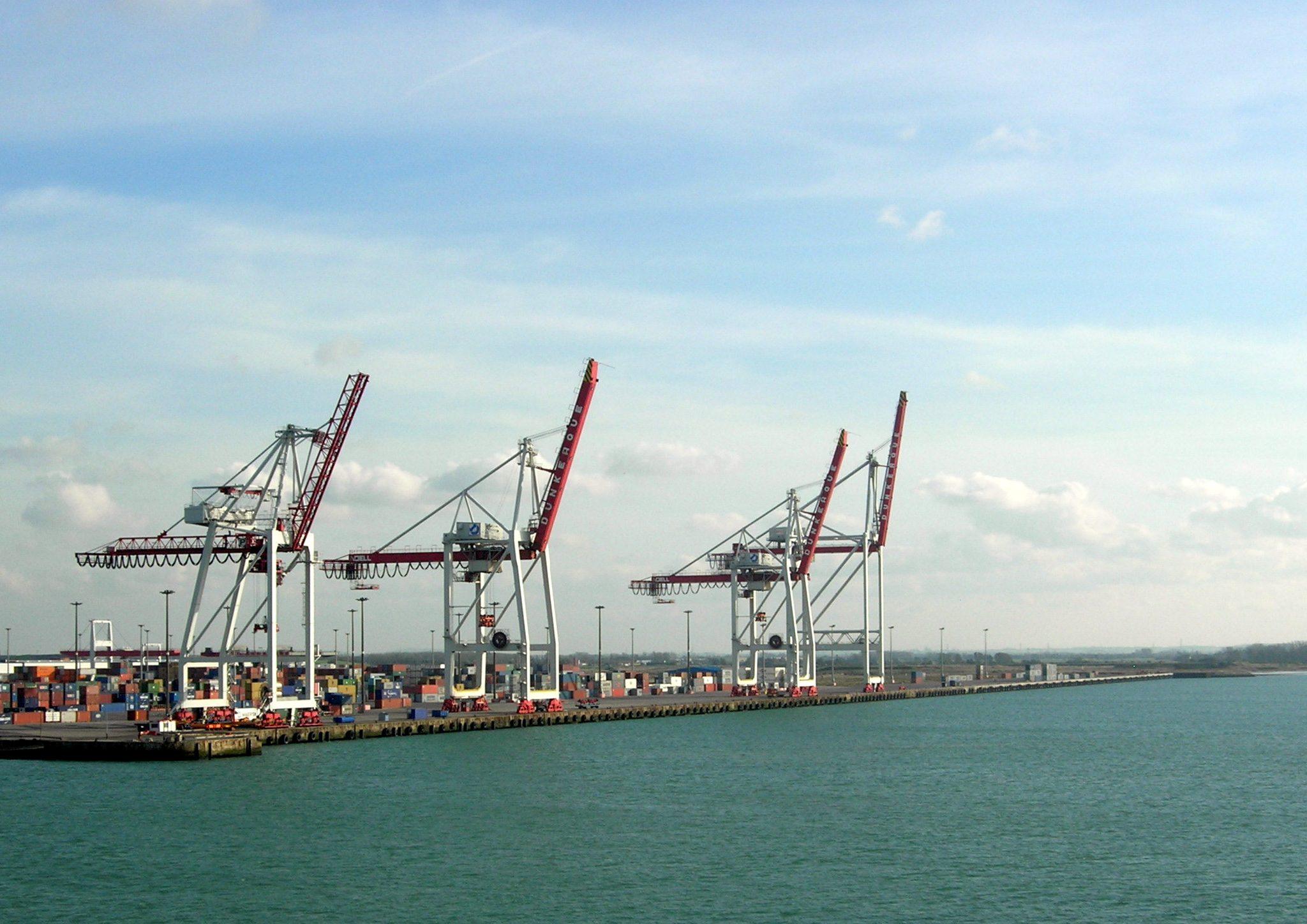 Het gebeurde allemaal in de haven van Duinkerken. (Foto Wikimedia)