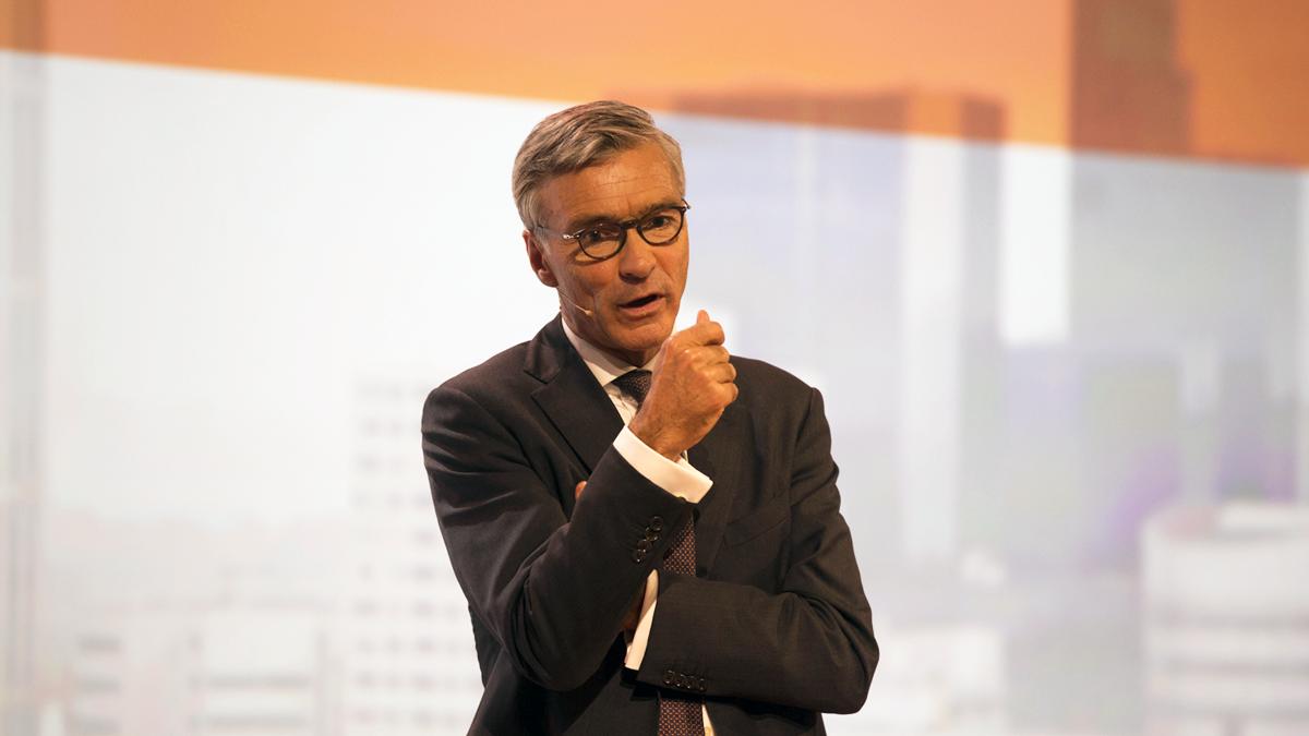 Koos Timmermans was werkzaam bij ING. (Foto ING)