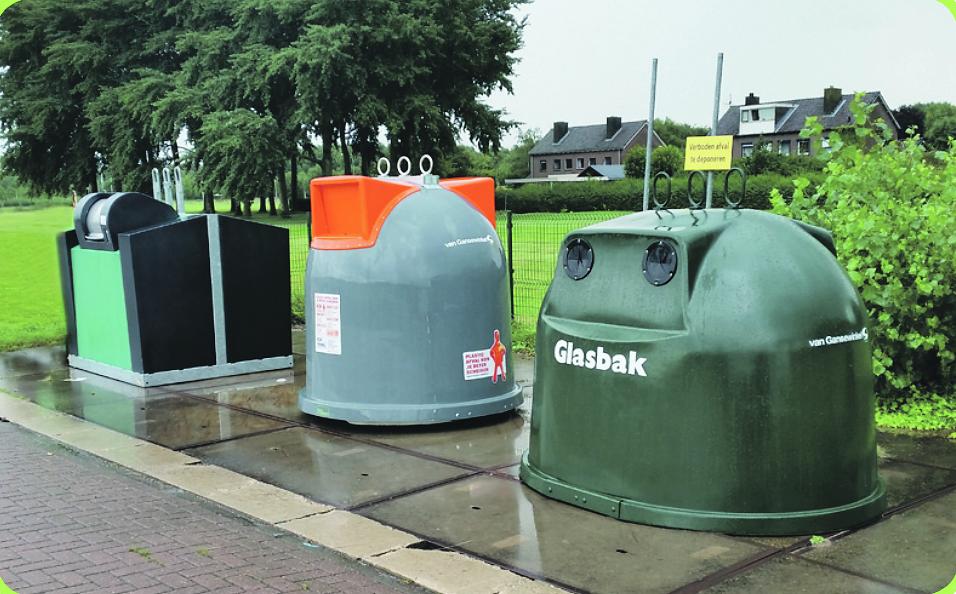 Hylke Steensma: 'Schippers kunnen ook zelf afspraken maken over hun afval.' (Foto's RWS)