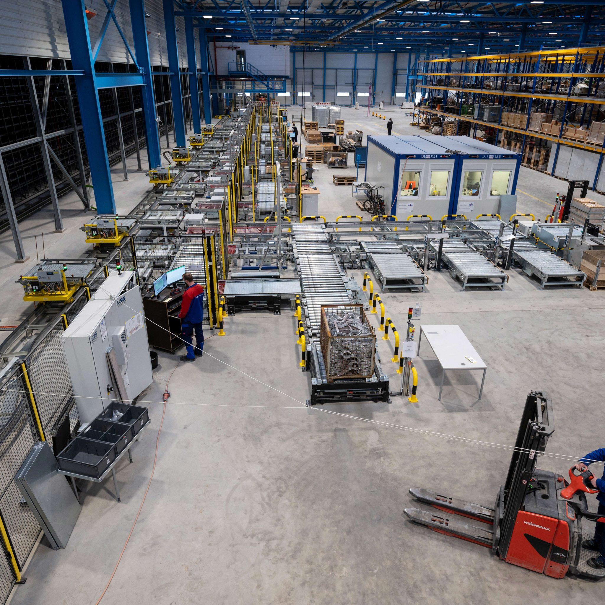Duitsland wil de Meyer Werft in Papenburg 12 miljoen euro steun geven. (Foto Meyer Werft)