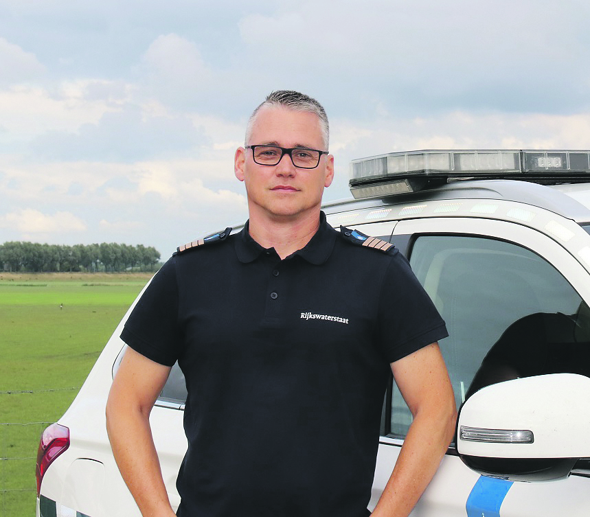 Peter de Wit van Rijkswaterstaat. (Foto RWS)